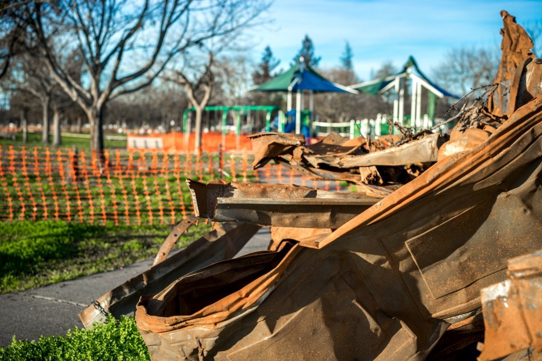Damage to Coffey Park